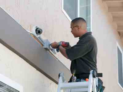 Security system repair by PTI Electric, Plumbing, & HVAC