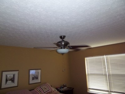 Ceiling fan installation in Columbus by PTI Electric, Plumbing, & HVAC