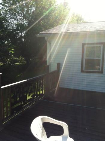 Deck Rebuild and Electrical Lighting in Columbus, OH