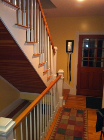 Beautiful Remodeling by our master carpenter, David Holmes