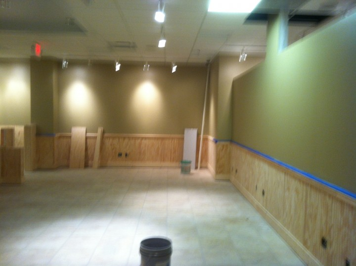 Commercial Tenet Build-out in Columbus, OH