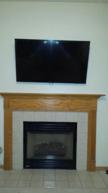 Hang TV for Customer in Westerville, OH