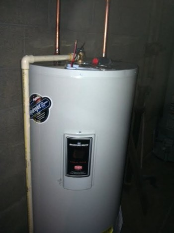 Installing Hot Water Tank in Columbus, OH